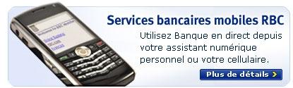 Services bancaires mobiles RBC - Utilisez Banque en direct depuis